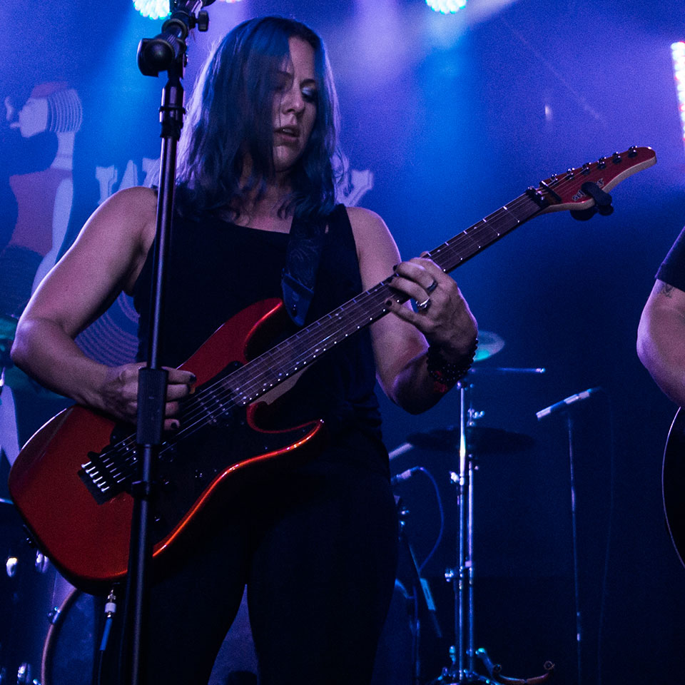 Shannon Callahan Sings and Plays Guitar With Cut Elements at The Whisky