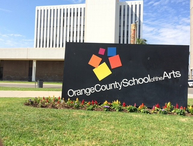 Orange County School of the Arts Building in Orange County